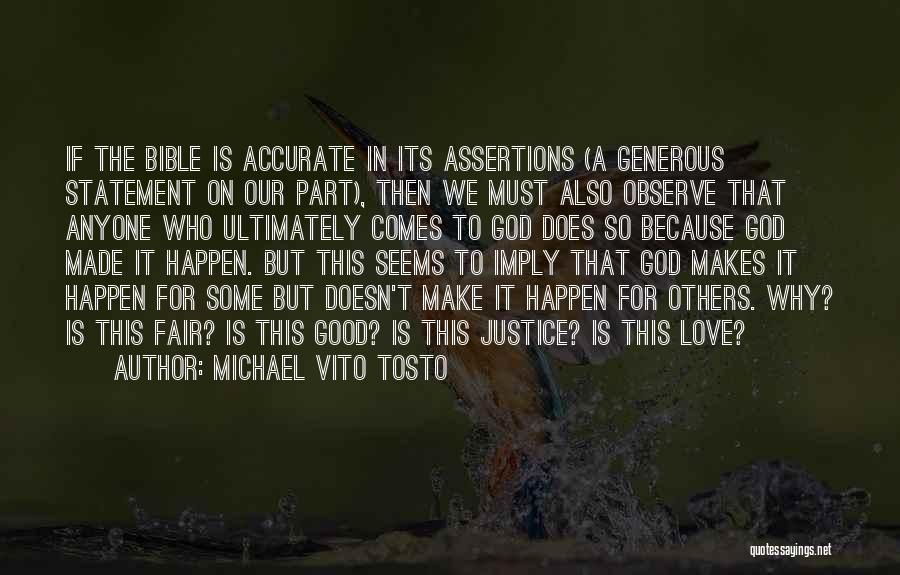 Vito Quotes By Michael Vito Tosto
