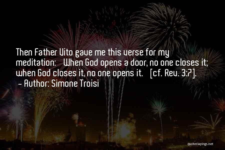 Vito Quotes By Simone Troisi