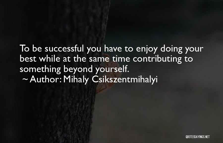 Vivi Walker Quotes By Mihaly Csikszentmihalyi
