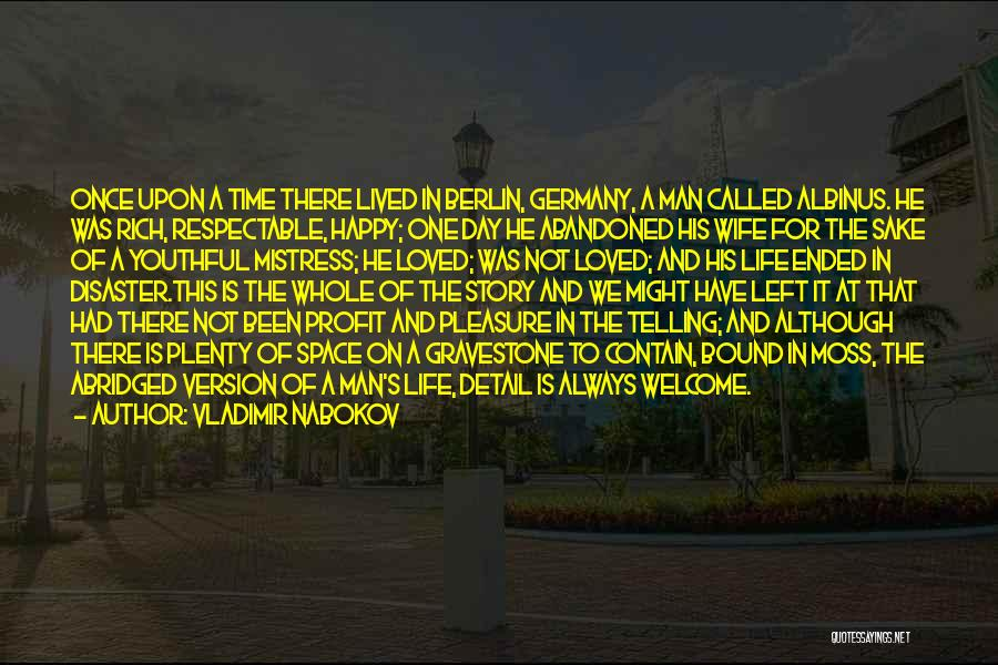 Vladimir Nabokov Quotes 1903705