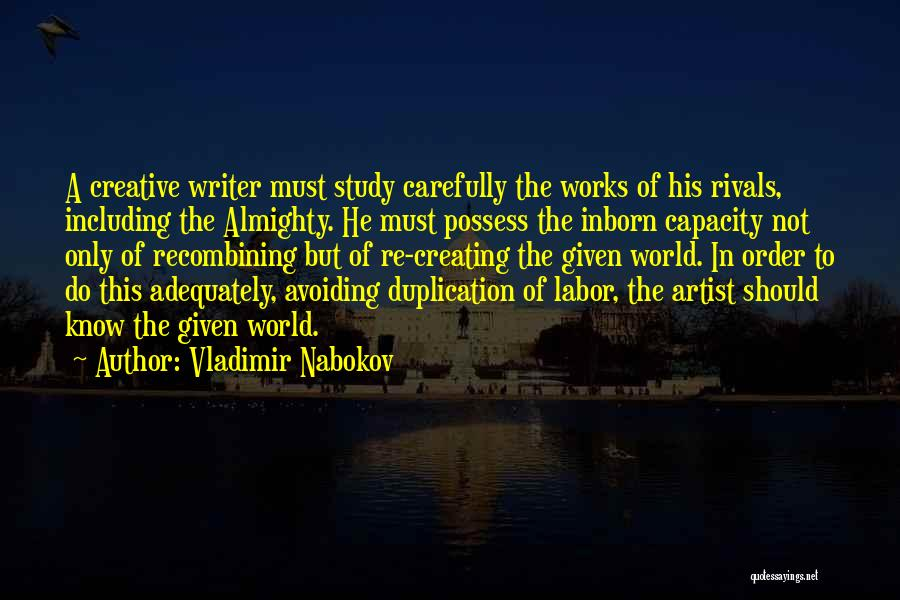 Vladimir Nabokov Quotes 1917373