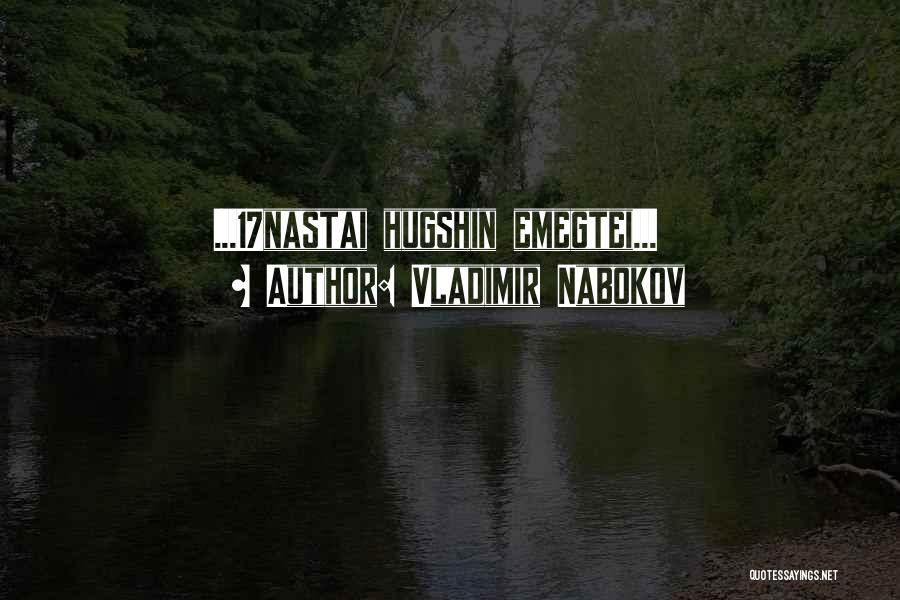 Vladimir Nabokov Quotes 237370