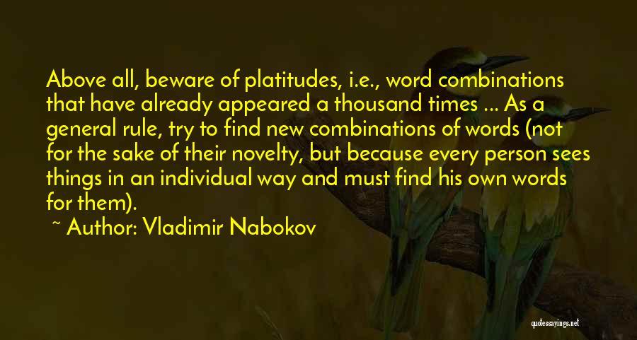 Vladimir Nabokov Quotes 705343
