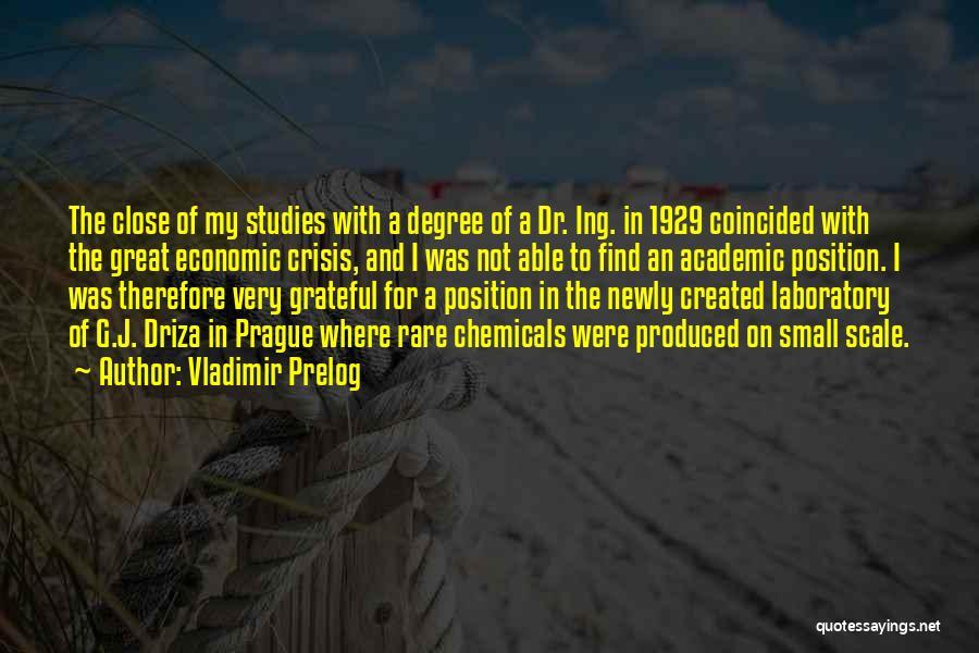 Vladimir Prelog Quotes 2034619