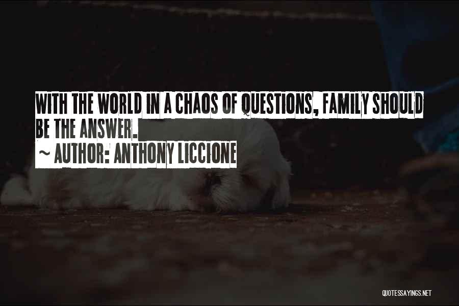 Void Life Quotes By Anthony Liccione