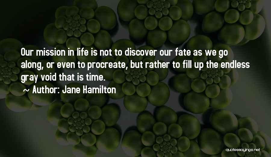 Void Life Quotes By Jane Hamilton