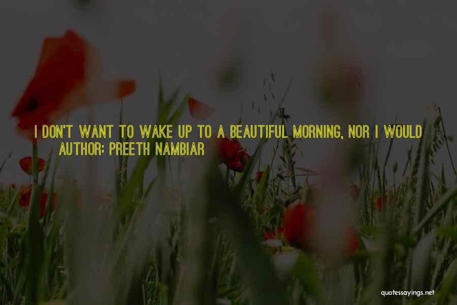 Void Life Quotes By Preeth Nambiar