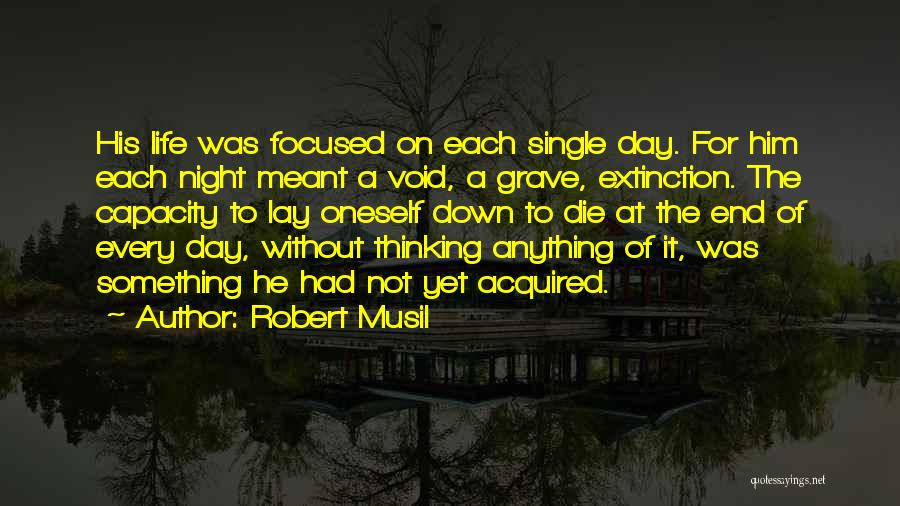 Void Life Quotes By Robert Musil