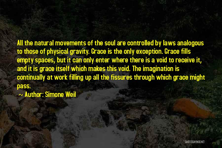 Void Life Quotes By Simone Weil