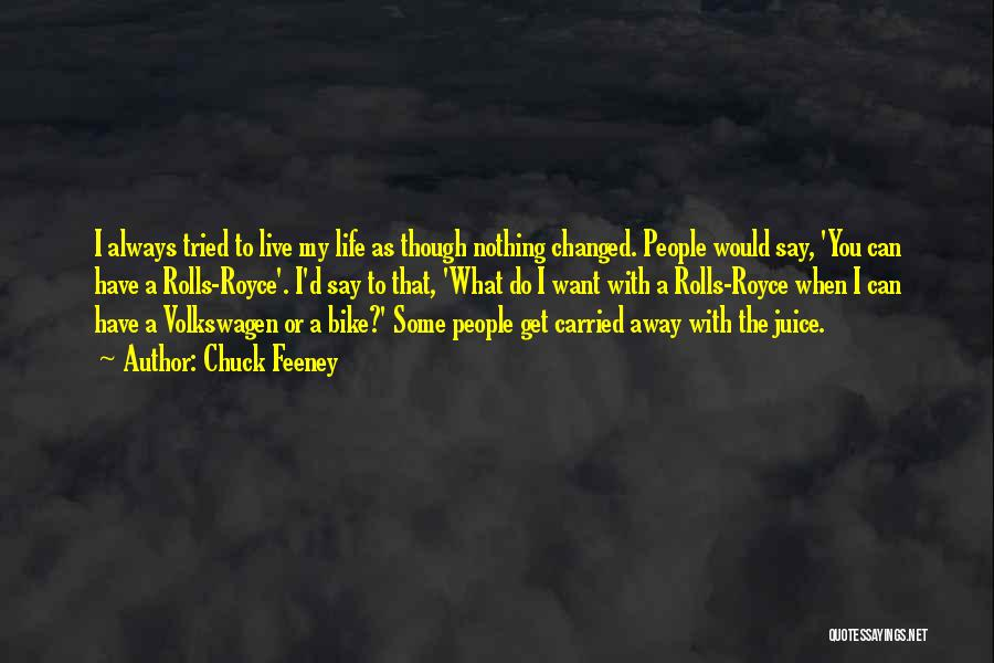 Volkswagen Quotes By Chuck Feeney