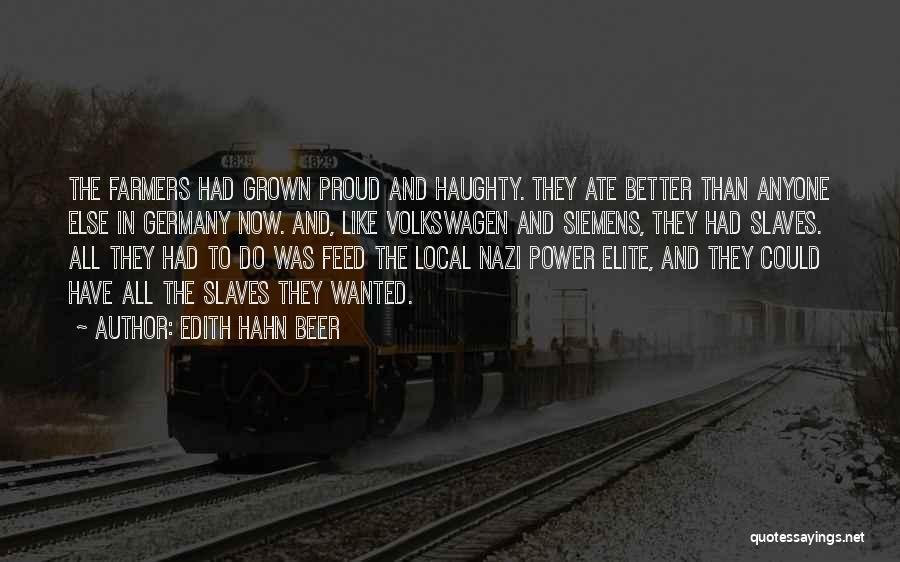Volkswagen Quotes By Edith Hahn Beer
