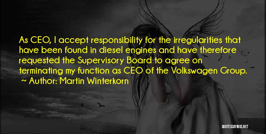 Volkswagen Quotes By Martin Winterkorn