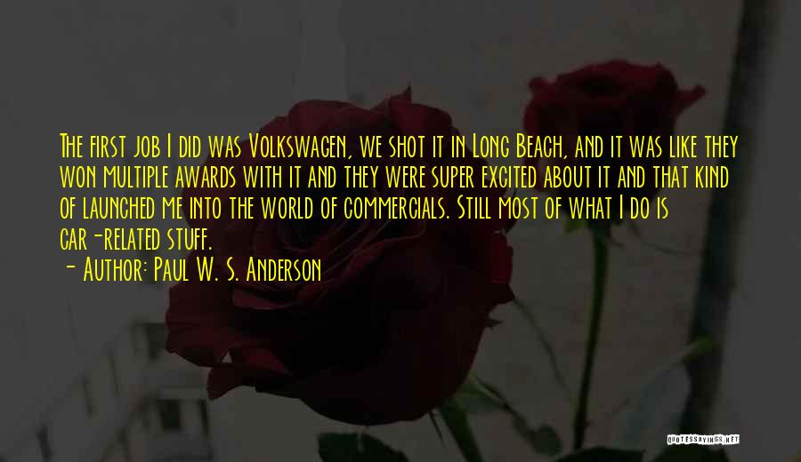 Volkswagen Quotes By Paul W. S. Anderson