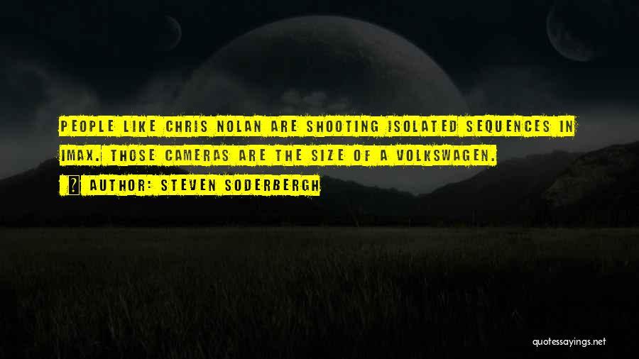 Volkswagen Quotes By Steven Soderbergh