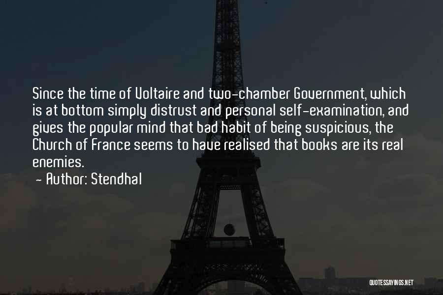 Voltaire Anti Religion Quotes By Stendhal