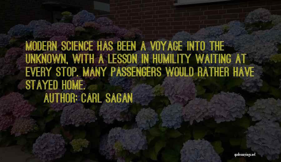 Voyage Home Quotes By Carl Sagan