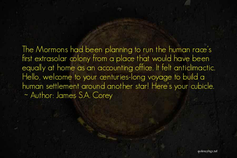 Voyage Home Quotes By James S.A. Corey