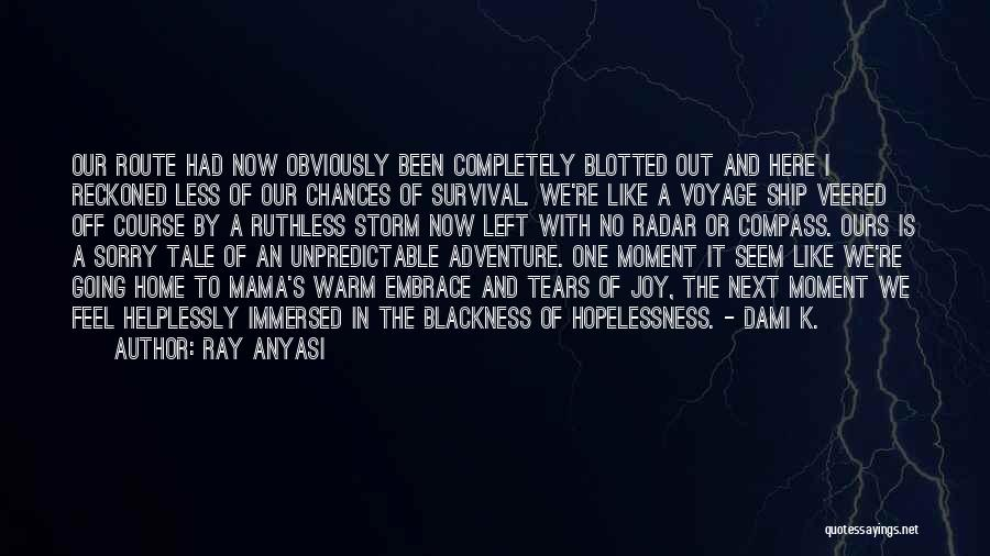 Voyage Home Quotes By Ray Anyasi