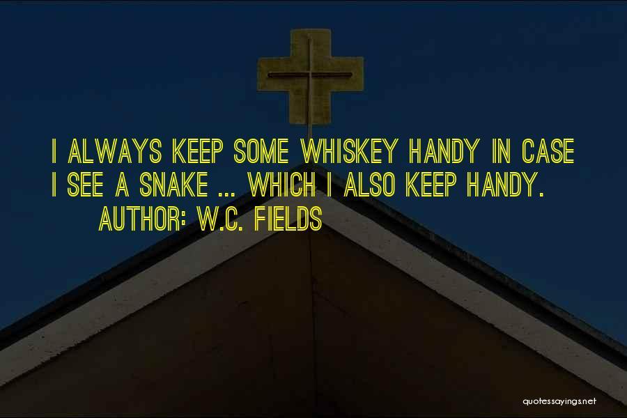 W.c. Handy Quotes By W.C. Fields