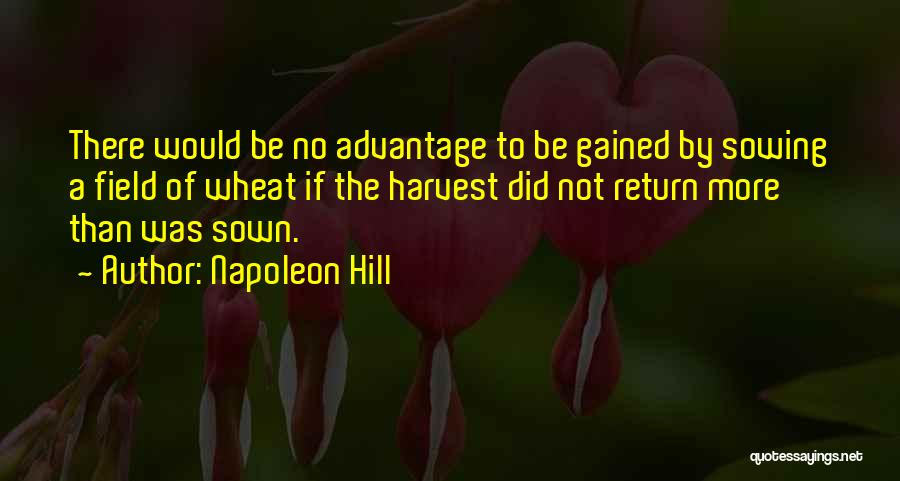 W E Fields Quotes By Napoleon Hill