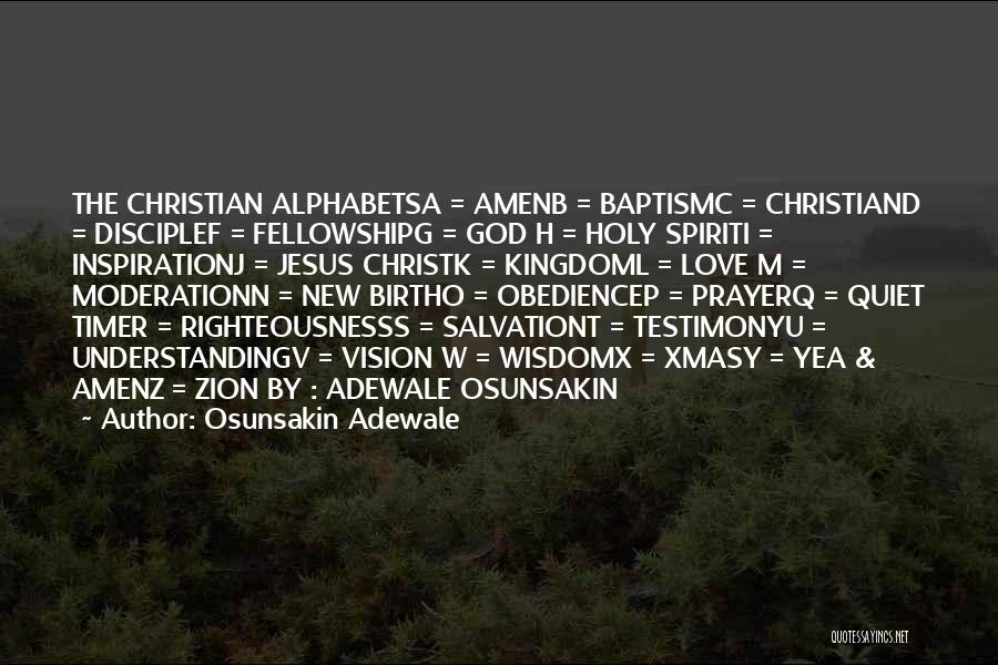 W G P Quotes By Osunsakin Adewale