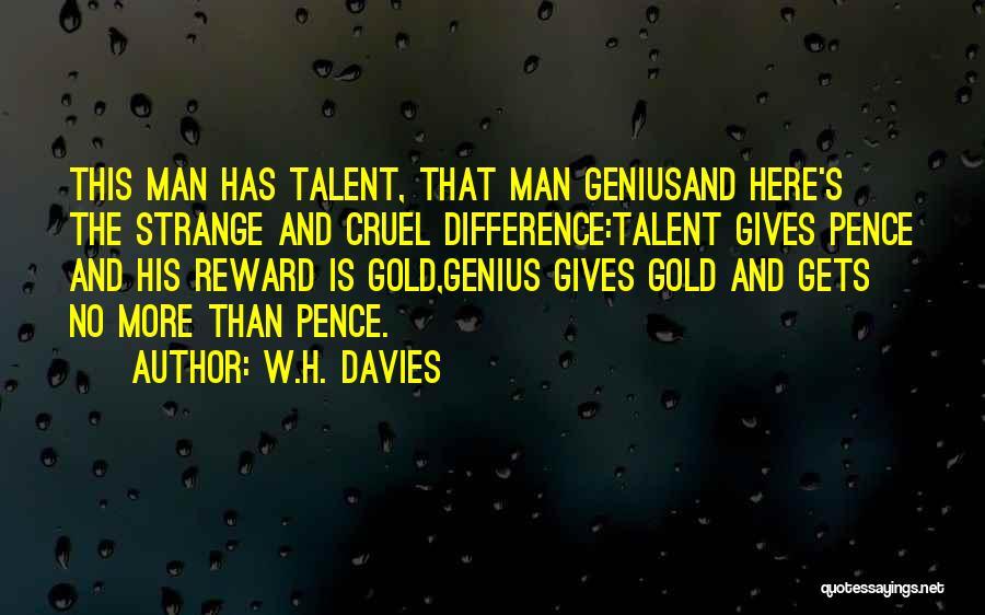 W.H. Davies Quotes 1161042