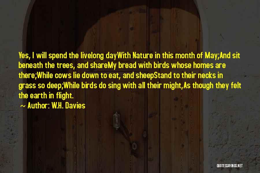 W.H. Davies Quotes 1626944