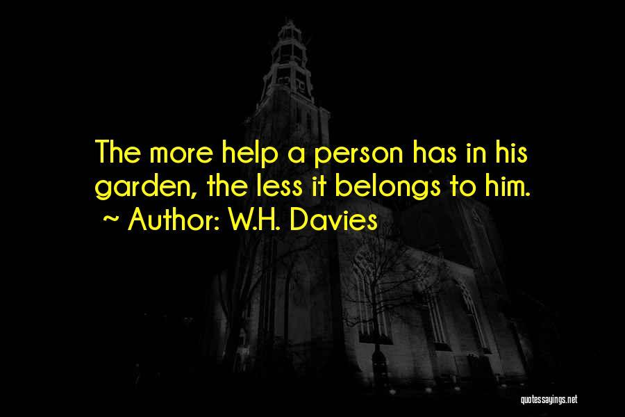 W.H. Davies Quotes 2029732