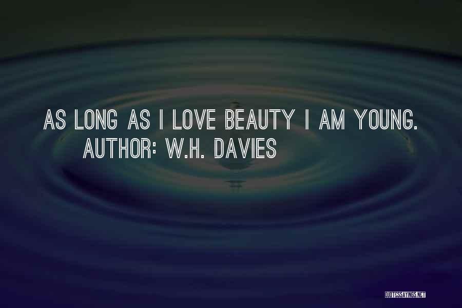 W.H. Davies Quotes 2063321