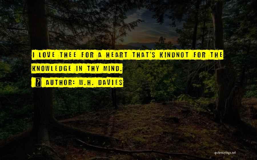 W.H. Davies Quotes 2149704