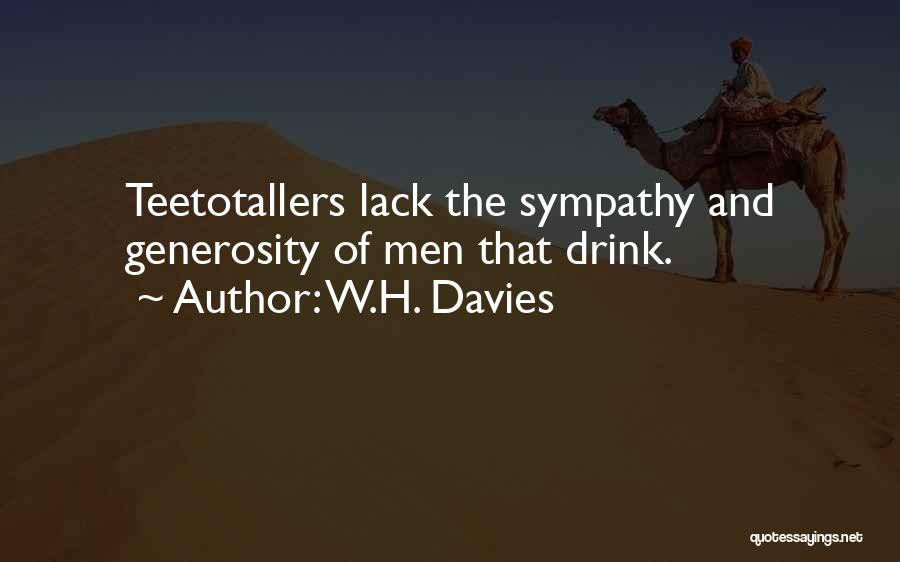 W.H. Davies Quotes 2220407