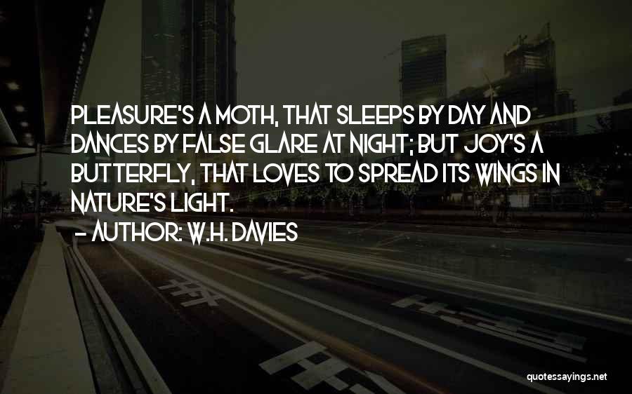 W.H. Davies Quotes 819435