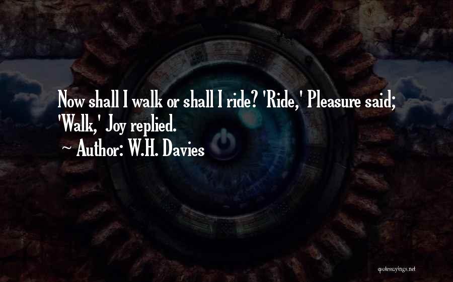 W.H. Davies Quotes 98675