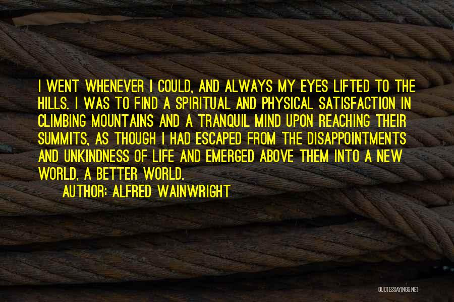 Wainwright Quotes By Alfred Wainwright