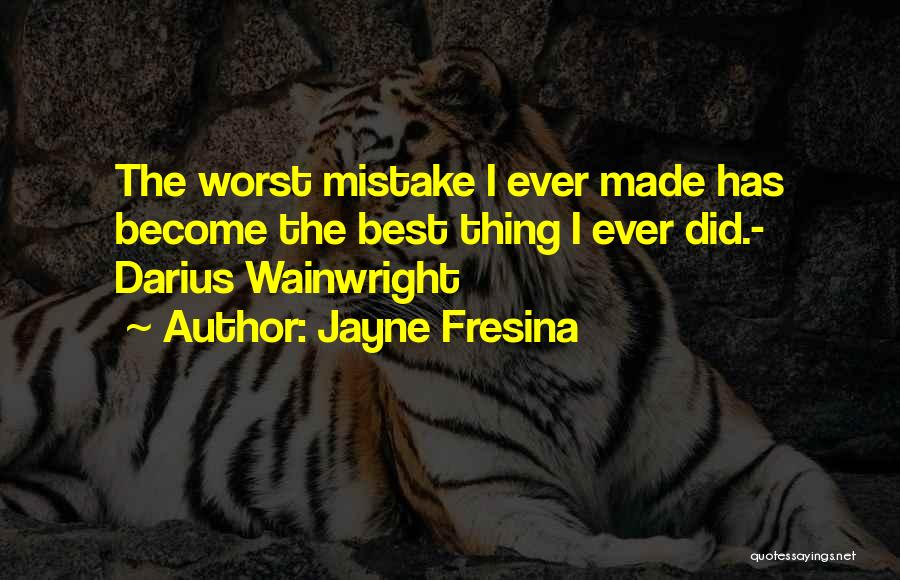 Wainwright Quotes By Jayne Fresina