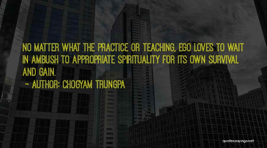 Wait What Quotes By Chogyam Trungpa