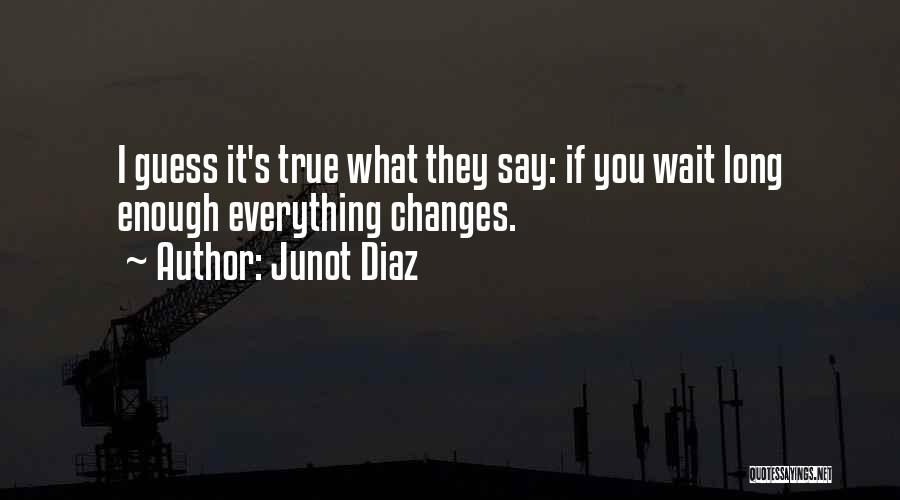 Wait What Quotes By Junot Diaz