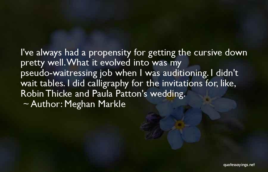 Wait What Quotes By Meghan Markle
