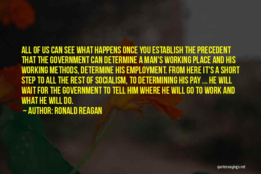 Wait What Quotes By Ronald Reagan