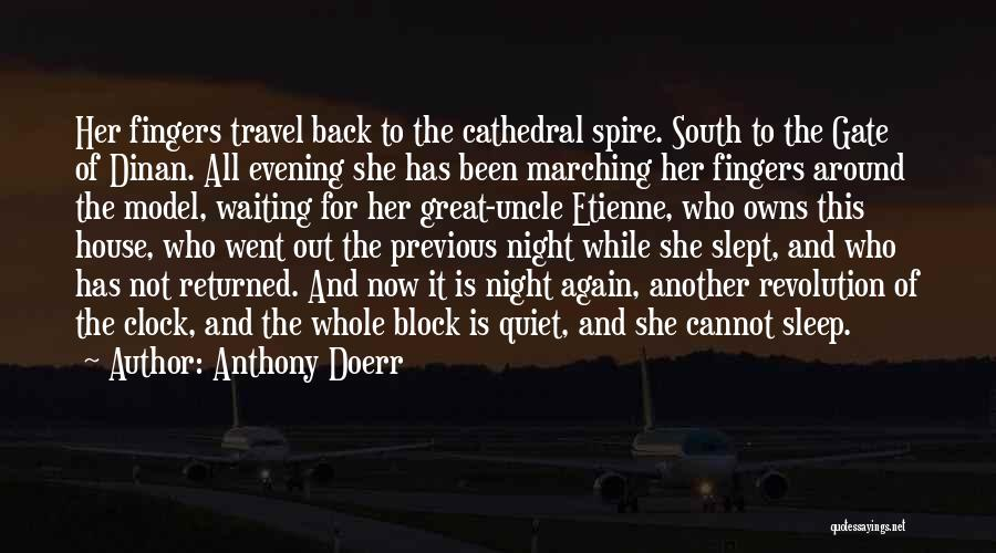 Waiting Around Quotes By Anthony Doerr