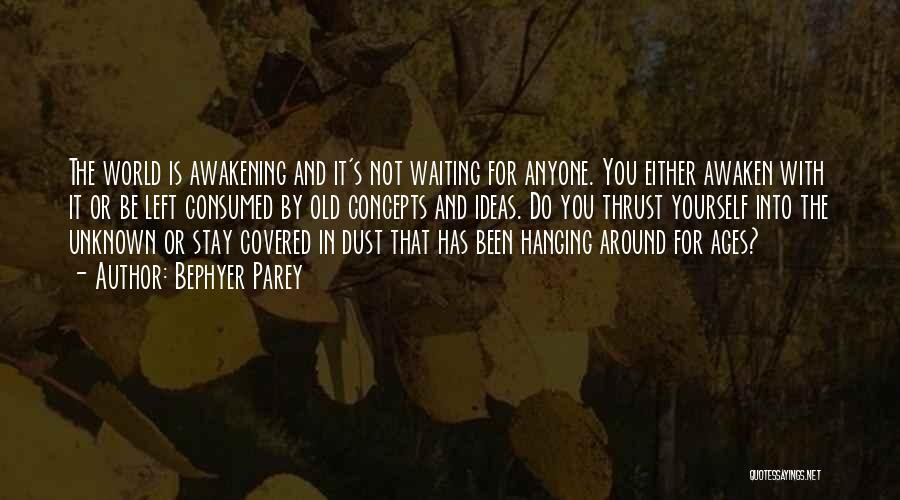 Waiting Around Quotes By Bephyer Parey