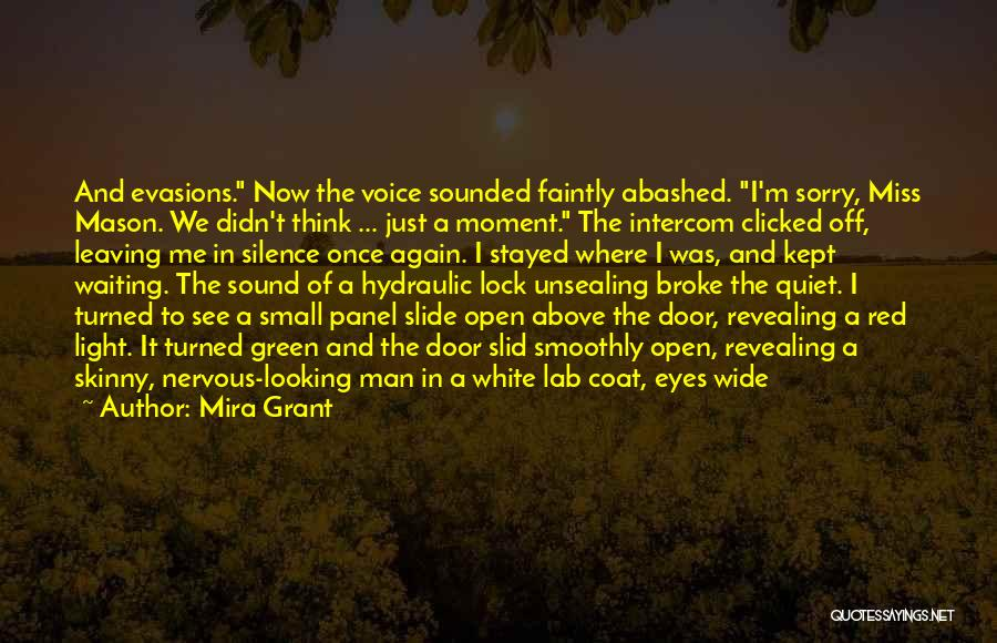 Waiting For Someone You Miss Quotes By Mira Grant