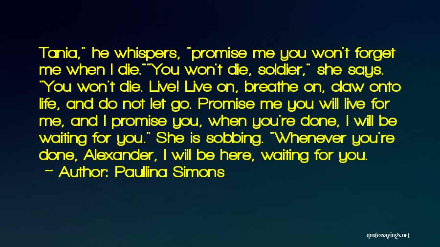 Waiting For U Quotes By Paullina Simons