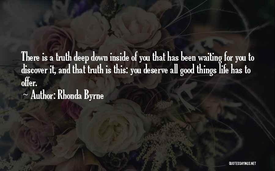Waiting For What You Deserve Quotes By Rhonda Byrne