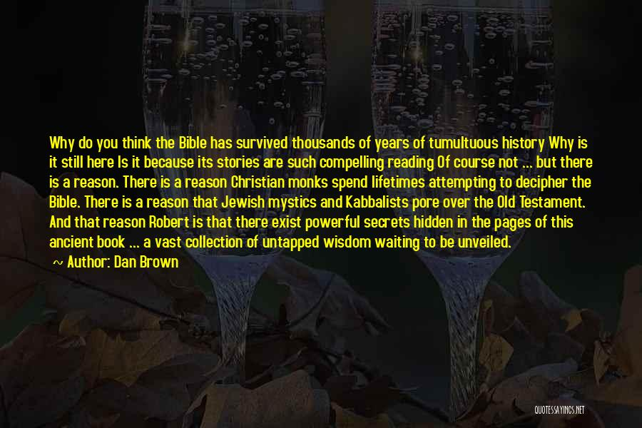 Waiting In The Bible Quotes By Dan Brown