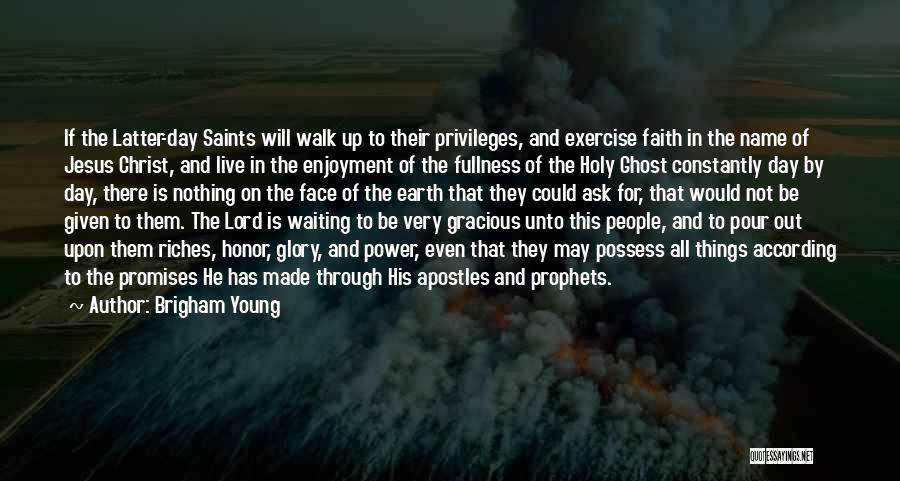 Waiting On The Lord Quotes By Brigham Young