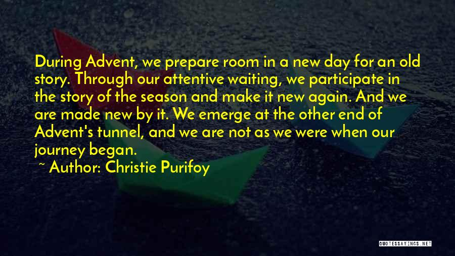 Waiting Room Quotes By Christie Purifoy