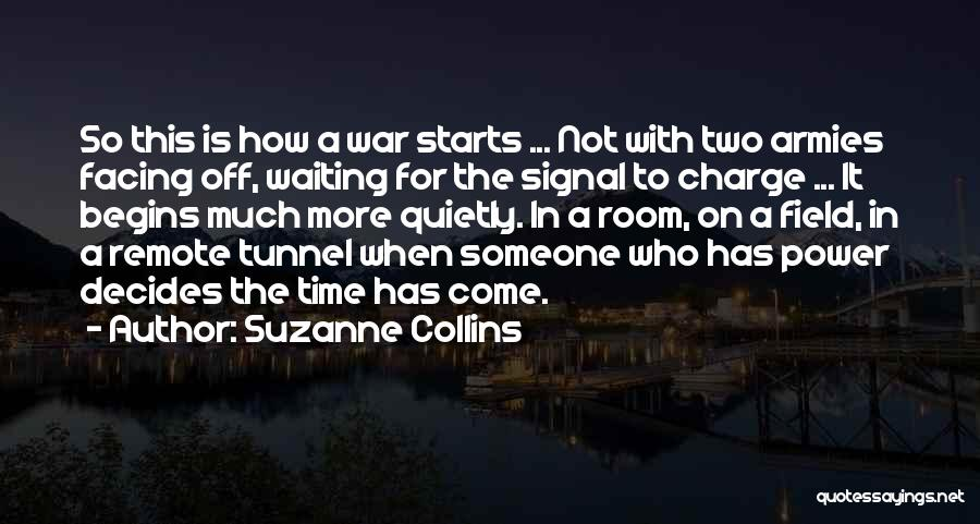 Waiting Room Quotes By Suzanne Collins