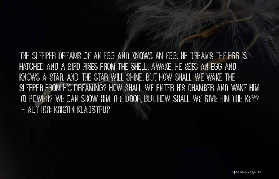 Wake Up And Shine Quotes By Kristin Kladstrup