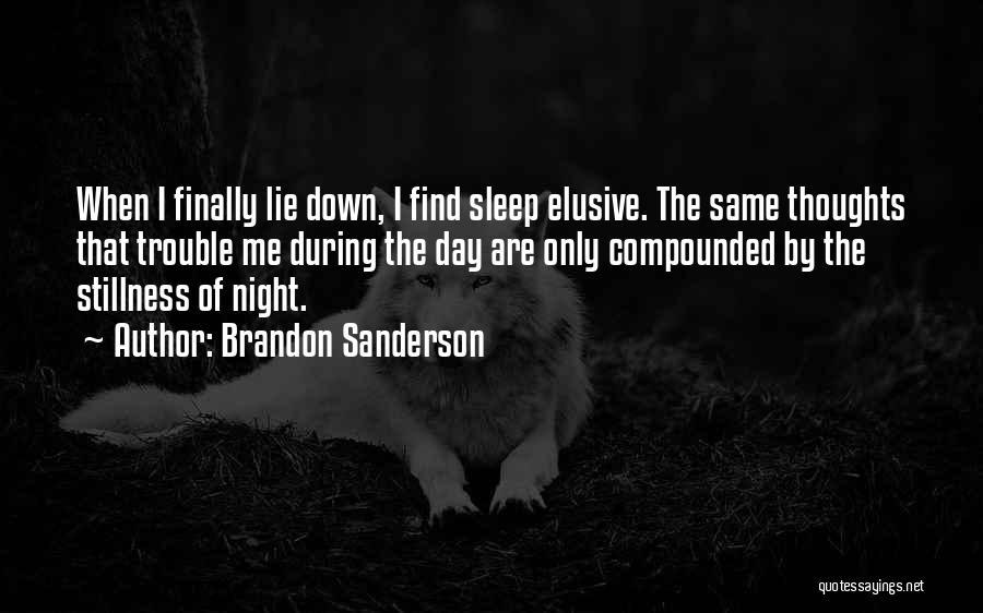 Wakefulness Quotes By Brandon Sanderson